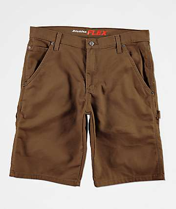 Dickies Tough Max Brown Carpenter Shorts
