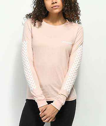 Dickies Tread Pink Long Sleeve T-Shirt