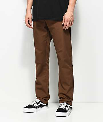 Dickies Twill with Pivot-Tek Brown Pants