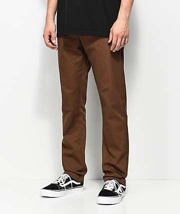 Dickies Twill with Pivot-Tek Brown Pants