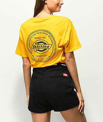 Dickies Vintage Stamp Yellow T-Shirt