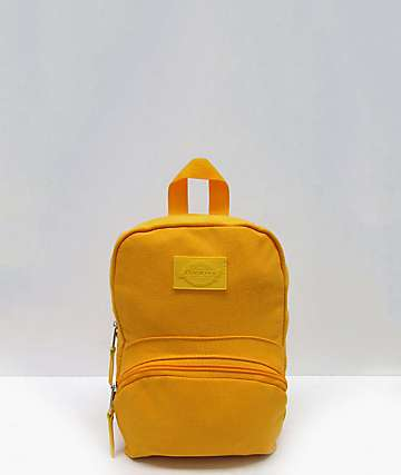 Dickies Yellow Mini Backpack