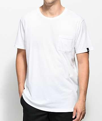 Dickies camiseta blanca con bolsillo