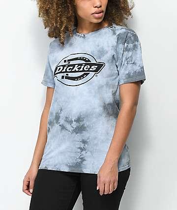 Dickies camiseta con lavado mineral en negro
