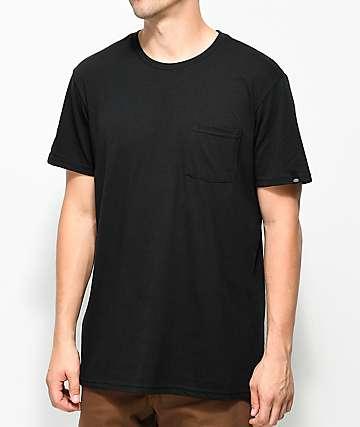 Dickies camiseta negra con bolsillo