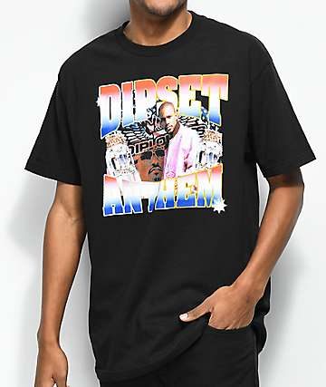 Dipset Anthem Black T-Shirt