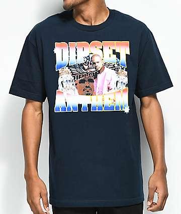 Dipset Anthem camiseta en azul marino