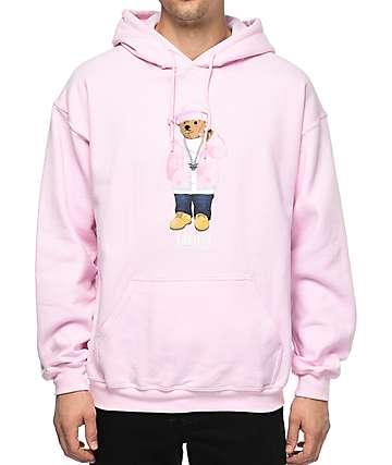 Dipset Killa Cam Bear Pink Hoodie