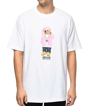 Dipset Killa Cam Bear White T-Shirt