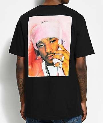 Dipset Pink Camron camiseta negra
