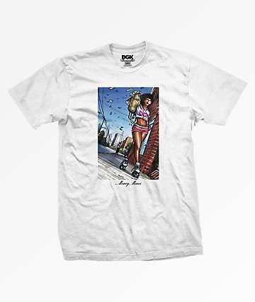 Dirty Ghetto Kids Money Moves White T-Shirt
