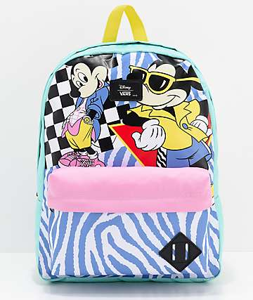 Disney by Vans 80's Mickey Old Skool II mochila