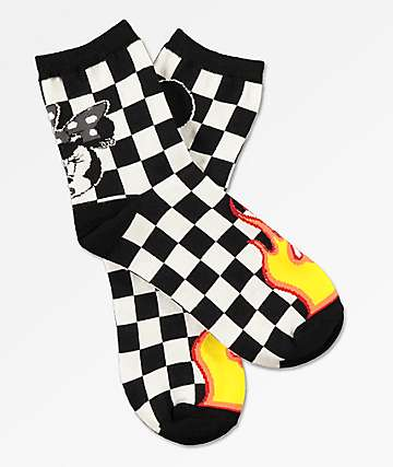 Disney by Vans Punk Mickey Crew Socks