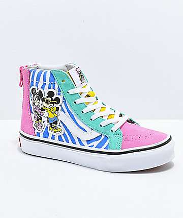 Disney x Vans Sk8-Hi 80s Mickey Shoes