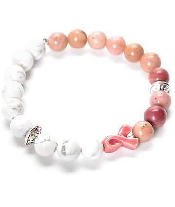 Divinity LA Amore Pink & White Bracelet