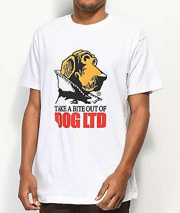 Dog Limited Bite camiseta blanca