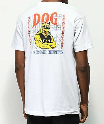 Dog Limited Bounty Hunter White T-Shirt