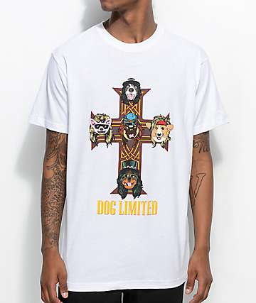 Dog Limited Dogs and Noses White T- Shirt