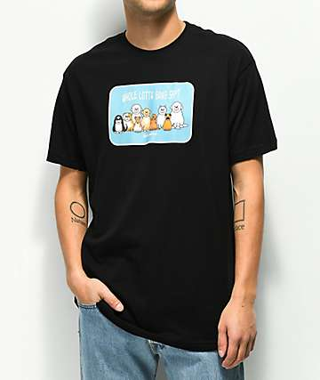 Dog Limited Gang Shit Black T-Shirt