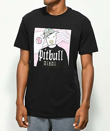 Dog Limited Pitbull Black T-Shirt
