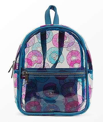 Donut Transparent Mini Backpack