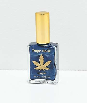 Dope Nailz Blue Dragon Nail Polish