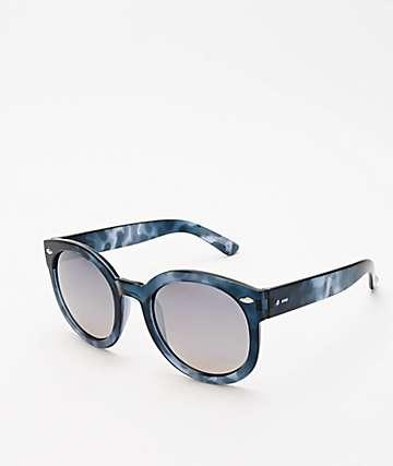 Dot Dash Pool Party Blue Tortoise Sunglasses