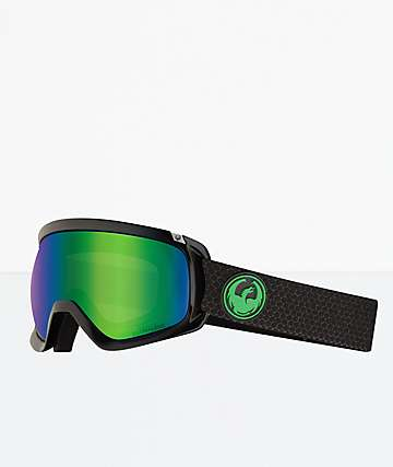 Dragon D3 OTG Split Green Ion Snowboard Goggles