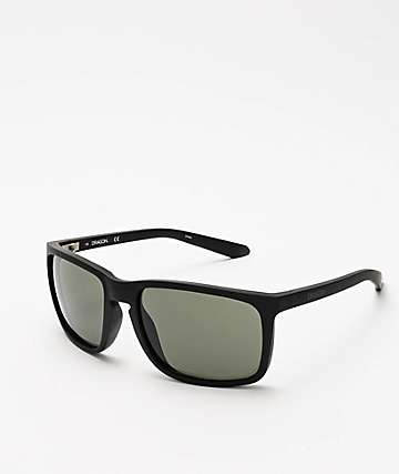 Dragon Melee Matte Black G15 Sunglasses