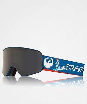 Dragon NFX2 Danny Davis Signature Dark Smoke Snowboard Goggles