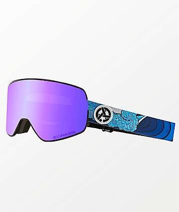 Dragon NFX2 Jamie Lynn Asymbol Blue Ion Snowboard Goggles
