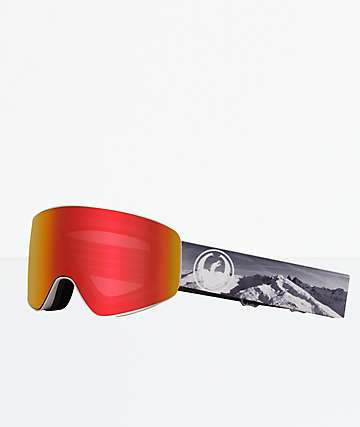 Dragon PXV Eagle Red Ion Snowboard Goggles