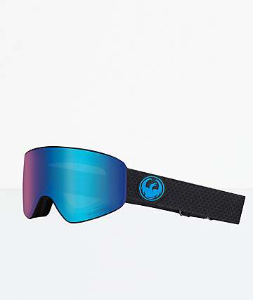 Dragon PXV Split Blue Ion Snowboard Goggles