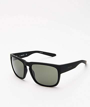 Dragon Rune XL Matte Black Sunglasses