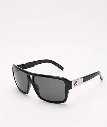 Dragon The Jam Black & Jet Grey Sunglasses