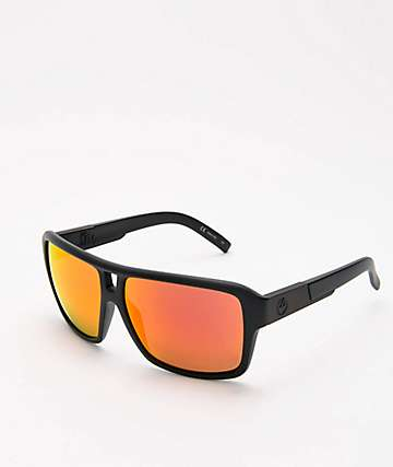 Dragon The Jam Matte Black Red Ion Sunglasses