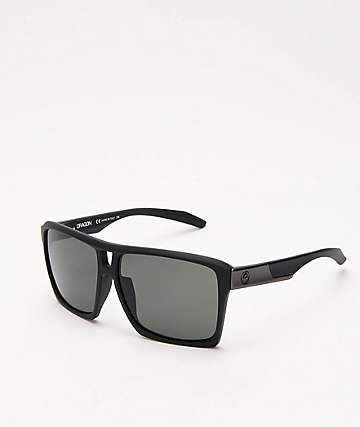 Dragon The Verse Matte Black & Grey Sunglasses
