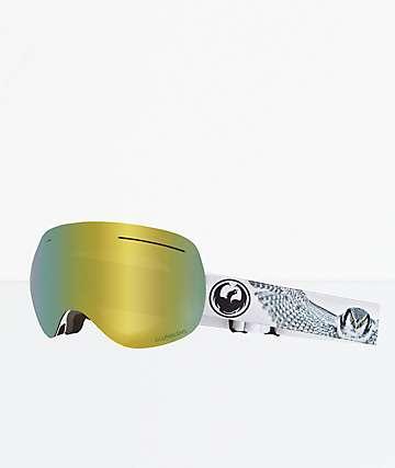 Dragon X1 Prey Gold Ion gafas de snowboard