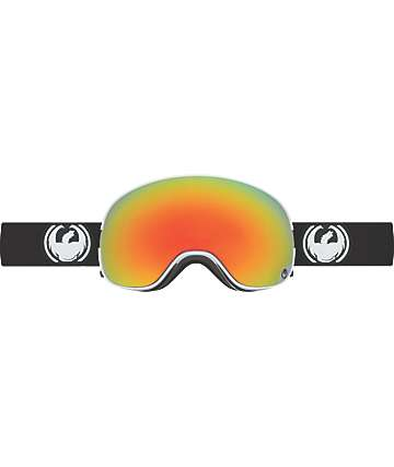 Dragon X2 Inverse Red Ion & Black Snowboard Goggles