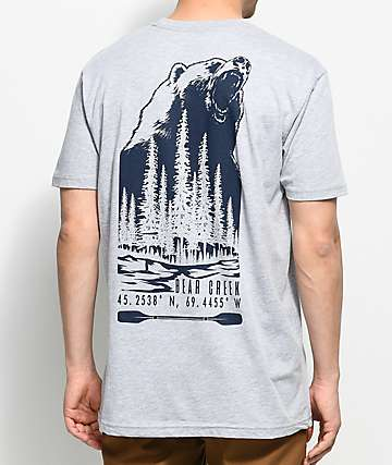 Dravus Bear Creek camiseta gris