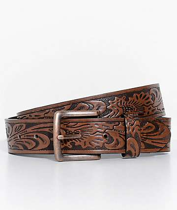 Dravus Bear Embossed Belt
