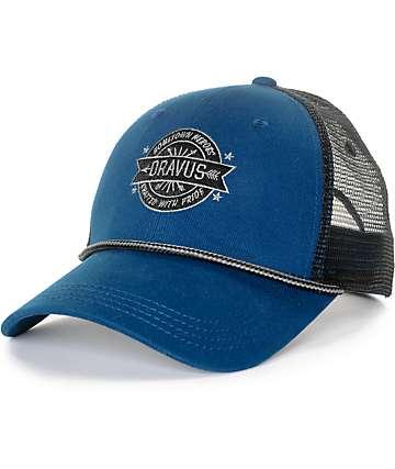 Dravus Burch gorra snapback en azul