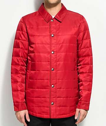 Dravus Burt chaqueta ligera roja