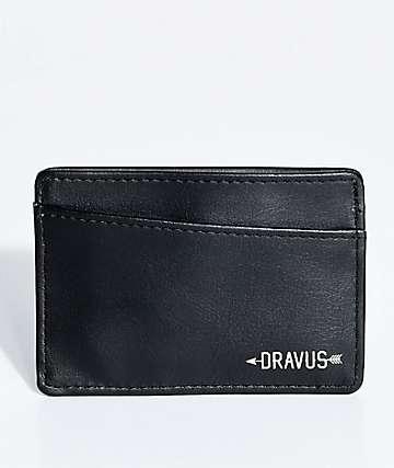 Dravus Carded Black Cardholder