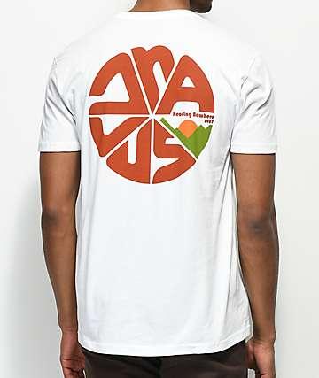 Dravus Cascade Horizon camiseta blanca