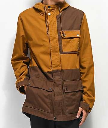 Dravus Charlie chaqueta marrón