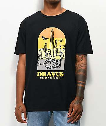 Dravus Desert Explorer Black T-Shirt