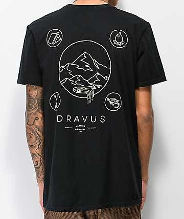 Dravus Elements camiseta negra