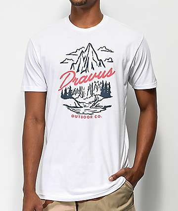 Dravus Elevated Oasis White T-Shirt