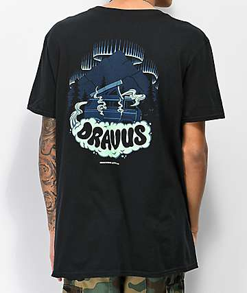Dravus Foggy Nights camiseta negra